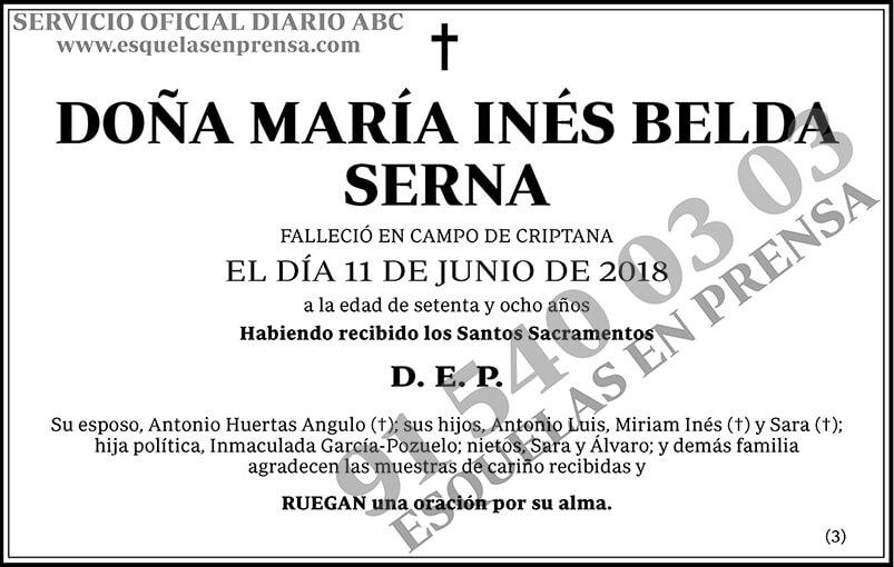 María Inés Belda Serna